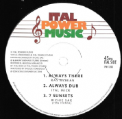 Ras McBean - Always There / Ital Mick - Always Dub (Ital Power Music) 12""